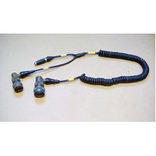 MBM TECHNOLOGY LT459N TERMITE HANDHELD COMPUTER RADIO DATA LINK CABLE ASSY COILED BRANCHED